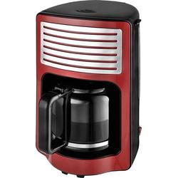 TKG Team Kalorik TKG CM 2500 R Kaffeemaschine Rot Fassungsvermögen Tassen=15 Glaskanne