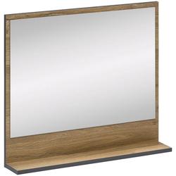 Wilmes Badspiegel ADRIA (1-St), Spiegel - Klarglasspiegel braun