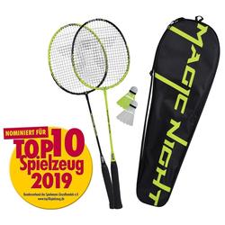 Talbot-Torro Badmintonschläger Talbot Torro Badminton Set Magic Night LED