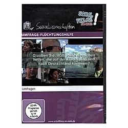 Umfrage: Flüchtlingshilfe, 1 DVD