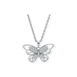 JuwelmaLux Kettenanhänger Schmetterling Anhänger