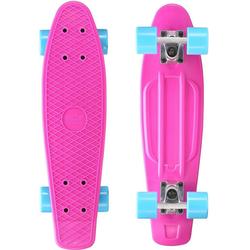 Star-Skateboard Skateboard, Kicktail lila