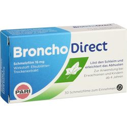 BRONCHODIRECT Schmelzfilm 16 mg