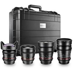 walimex pro Video WW-Portrait Set 4x Canon EF Objektiv
