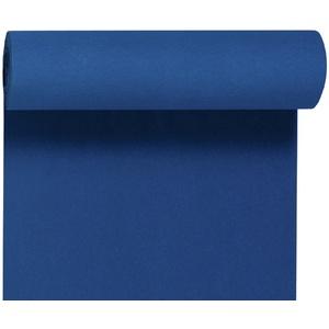 Duni Dunicel-Tischläufer Tête-à-Tête dunkelblau 24 x 0,4 m 20 Abschnitte je 1,20 m lang, 40cm breit, perforiert 1 Stück