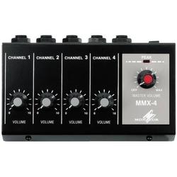 Monacor MMX-4 4-Kanal Mikrofon Mischpult