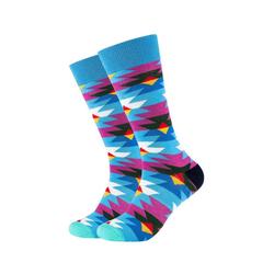 Fun Socks Socken (2-Paar) in buntem Retro-Muster