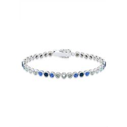 Elli Armband Mehrfarbig Kristall 925 Sterling Silber
