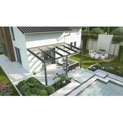 Alu Terrassenüberdachung Expert mit Schiebedach