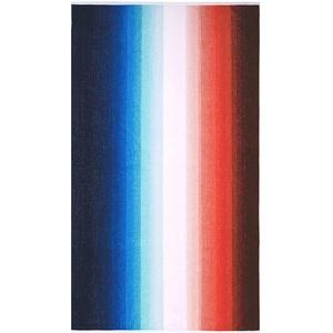 Lashuma Badetuch Strandtuch Maui, Velours Strandhandtuch 100 x 180 cm, XXL Baumwolle Badelaken Farbe: Rot - Weiß - Blau