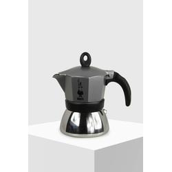 Bialetti Espressokocher Moka Induktion anthrazit 3 Tassen