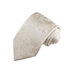 Paul Malone Krawatte Bräutigam Hochzeitskrawatte 100% Seide Hochzeit Schlips Breit (8cm), ivory wollweiß 2116 breit - 8 cm x 150 cm