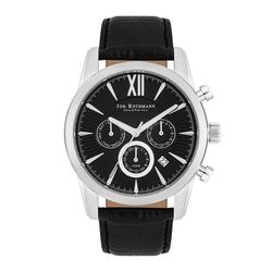Joh. Rothmann Armband-Uhr Halvor silber Echtleder schwarz Joh. Rothmann Multifunktionen Armband-Uhr Halvor silber Echtleder schwarz Joh. Rothmann Multifunktionen
