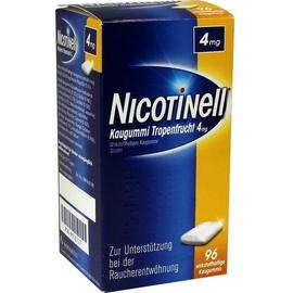Novartis Nicotinell Tropenfrucht 4 mg Kaugummi 96 St.