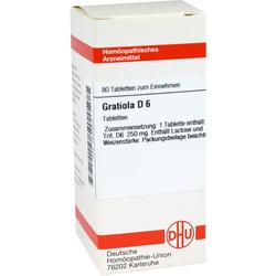 Gratiola D 6 Tabletten