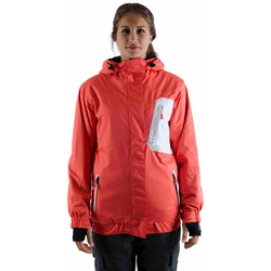 Jacke LIGHT - Bepop Coral Red/White (720)