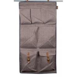 Organizer mit 7 Fächer für Zelte und Wohnwagen im Retro-Look
