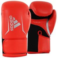 adidas Boxhandschuhe Speed 100 Damen Gr. 10 neonrot/silber/schwarz