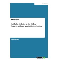 Haithabu als Beispiel der frühen Stadtentwickung im nördlichen Europa als Buch von Mario Polzin