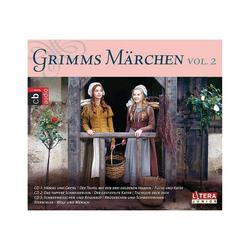 Edel Hörspiel CD Gebrüder Grimm-Grimms Märchen Box 2
