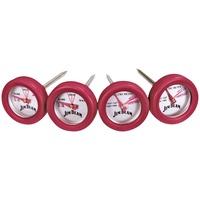 Jim Beam BBQ-Minithermometer Set 4