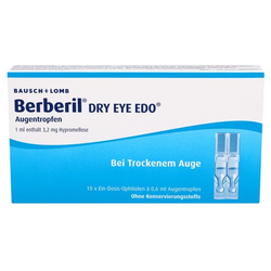 BERBERIL Dry Eye EDO Augentropfen 10X0.6 ml