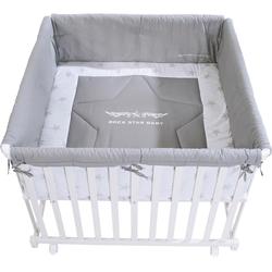 roba® Laufgitter Rock Star Baby 2, 100x100, mit Laufgittereinlage