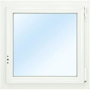Solid Elements Kunststofffenster Classic Line  (B x H: 120 x 120 cm, DIN Anschlag: Rechts, Weiß) + BAUHAUS Garantie 5 Jahre