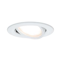 Paulmann LED 1x6,8W Ws, Prem EBL Coin Slim rd schw,