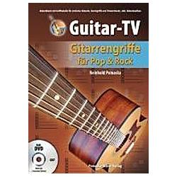 Guitar-TV  Gitarrengriffe für Pop & Rock  m. DVD. Reinhold Pomaska  - Buch