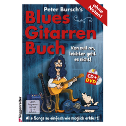 Peter Bursch's Blues Gitarrenbuch 1 CD + DVD