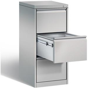 Hängeregisterschrank Metall DIN A4 3 Schubladen abschließbar