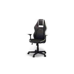 ebuy24 Drehstuhl Spike Bürostuhl Gamer Stuhl schwarz und weiss.