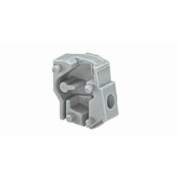 WAGO 257-801 Rasterzwischenstück Polzahl (num) 1 Grau 500St.