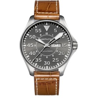 Hamilton Khaki Aviation Leder 46 mm H64715885