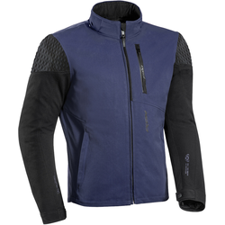 Ixon Brixton Motorrad Textiljacke, schwarz-blau, Größe L