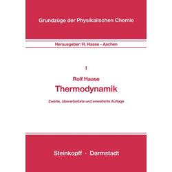 Thermodynamik als Buch von R. Haase/ Rolf Haase