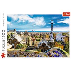Trefl - Puzzle - Park Güell Barcelona 1500 Teile