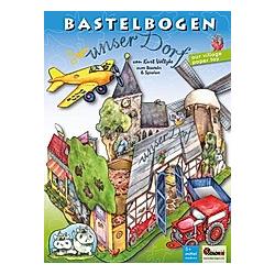 Unser Dorf Bastelbogen