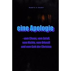 eine Apologie. Randalf H. X. Altendorf  - Buch