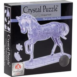 HCM KINZEL 3D-Puzzle Crystal Puzzle, Pferd transparent, 100 Puzzleteile
