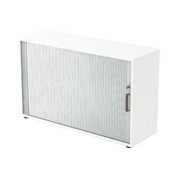 Otto Office Premium Rollladenschrank OTTO Office Line IV mit abschließbarem Querrollladen weiß 120 cm x 74.8 cm x 40 cm