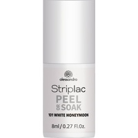 Alessandro Striplac Peel or Soak 101 white honeymoon 8 ml