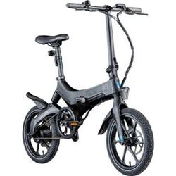 Zündapp Z201 16 Zoll Klapprad E-Bike Pedelec Faltrad Elektrofaltrad Elektrofahrrad StVZO... schwarz