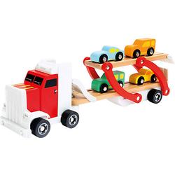 LKW mit Autos