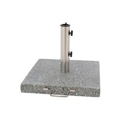 VCM Betonschirmständer Sonnenschirmständer mit Rollen Granit