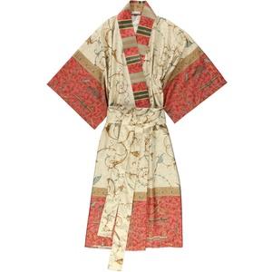Bassetti Oplontis Kimono, Baumwolle, Rot, L-XL