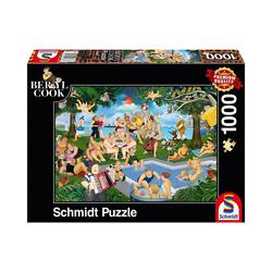 Schmidt Spiele Puzzle Puzzle B.Cook Sommerfest, 1.000 Teile, Puzzleteile