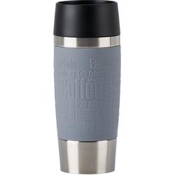 Emsa Thermobecher Travel Mug, (1 tlg.), 100% dicht, 360 ml grau und Coffee to go Geschirr, Porzellan Tischaccessoires Haushaltswaren