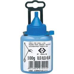 C.K. T3521B 100 Kreidepulver Blau 100g